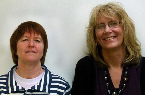 Sue Fallon and Linda Fitzmaurice