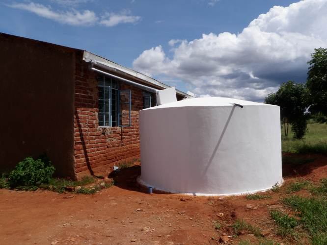 Project will involve construction of water storage tanks