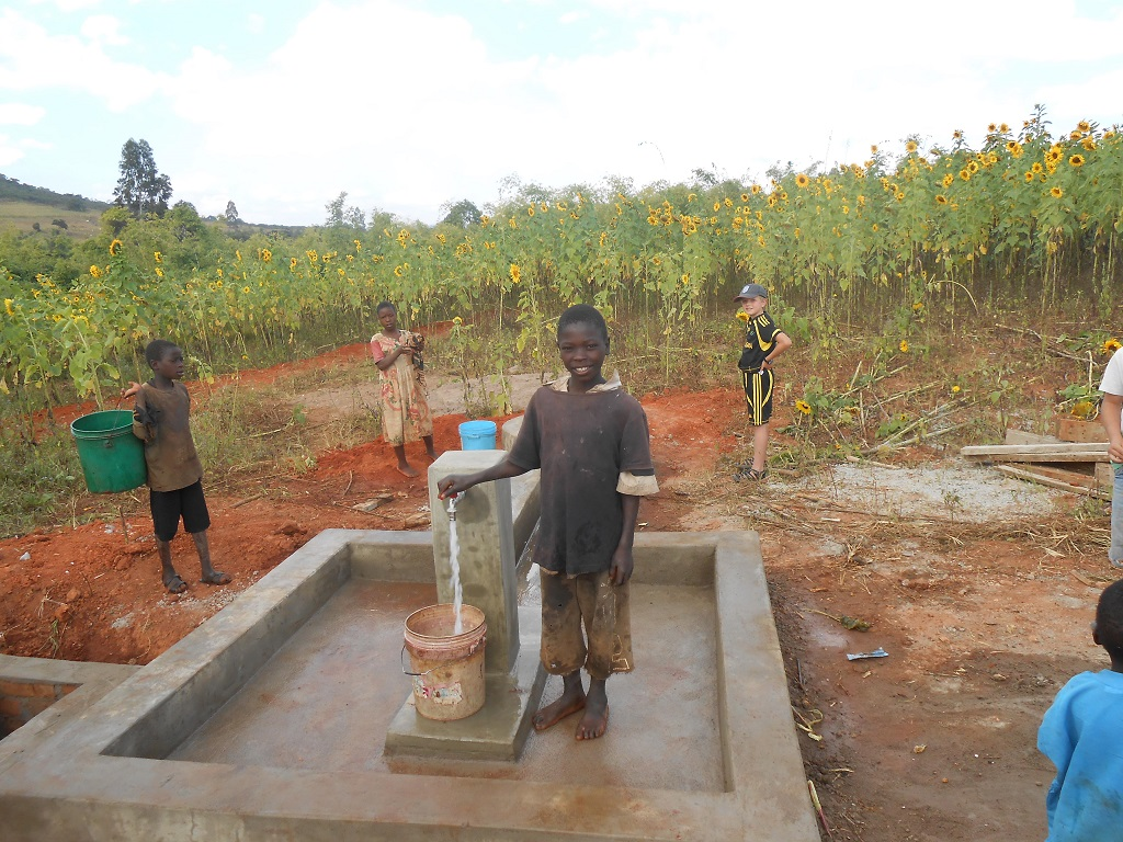Update on Lupembelwasenga Water Project