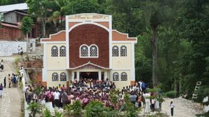 Marbial Church in Haiti