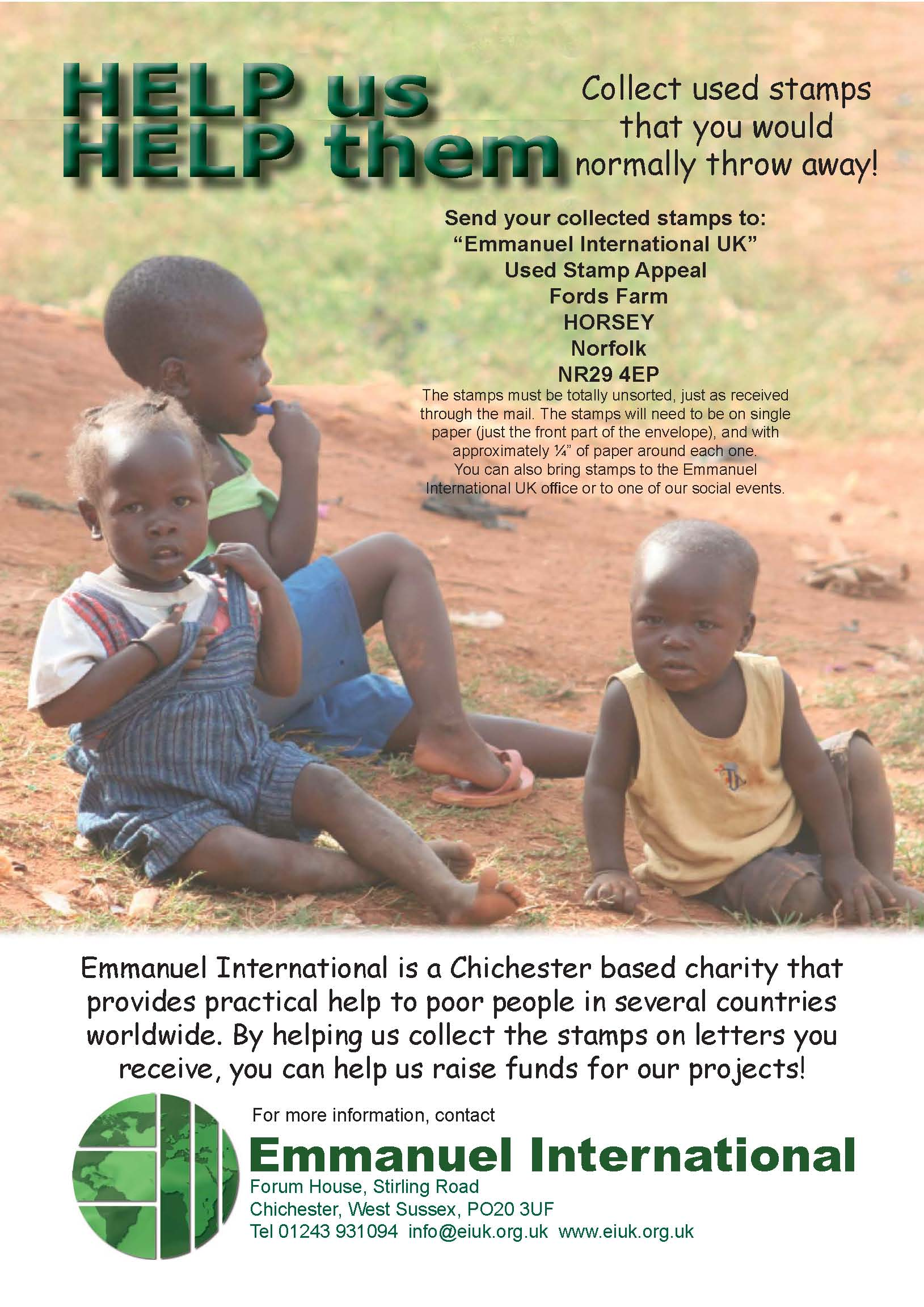 Help us raise funds easily!