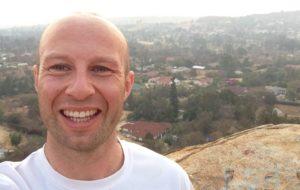 Dave Rollett in Tanzania