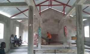 Rebuilding Font Blanc Church in Haiti