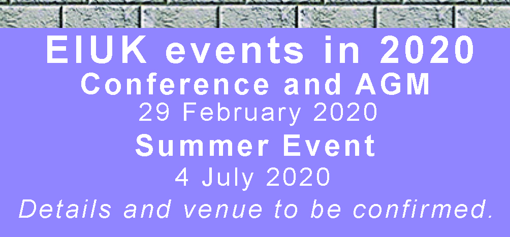 EIUK events in 2020