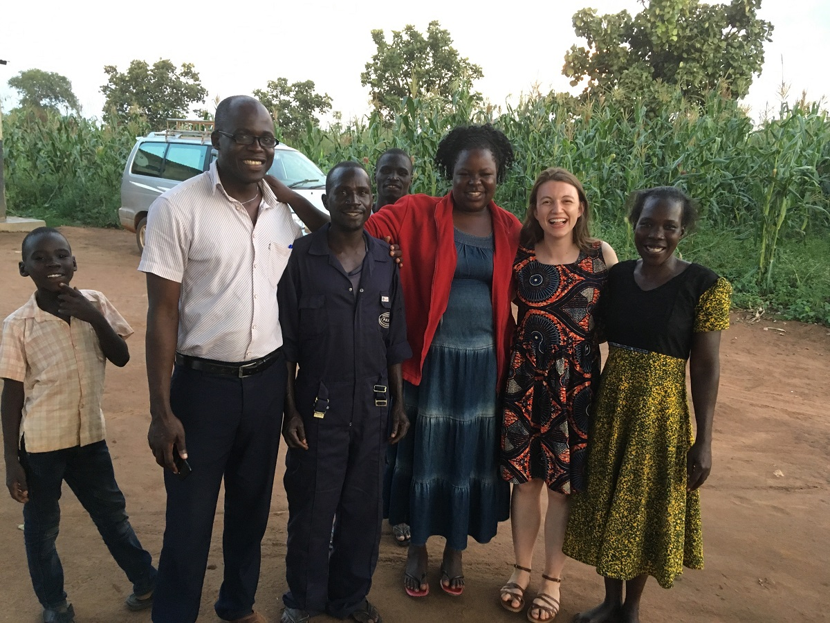 Claire Hemingway is raising funds for the Acholi Girls Fairer Future project