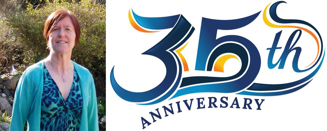 Sue Fallon celebrates 35 years with Emmanuel International!
