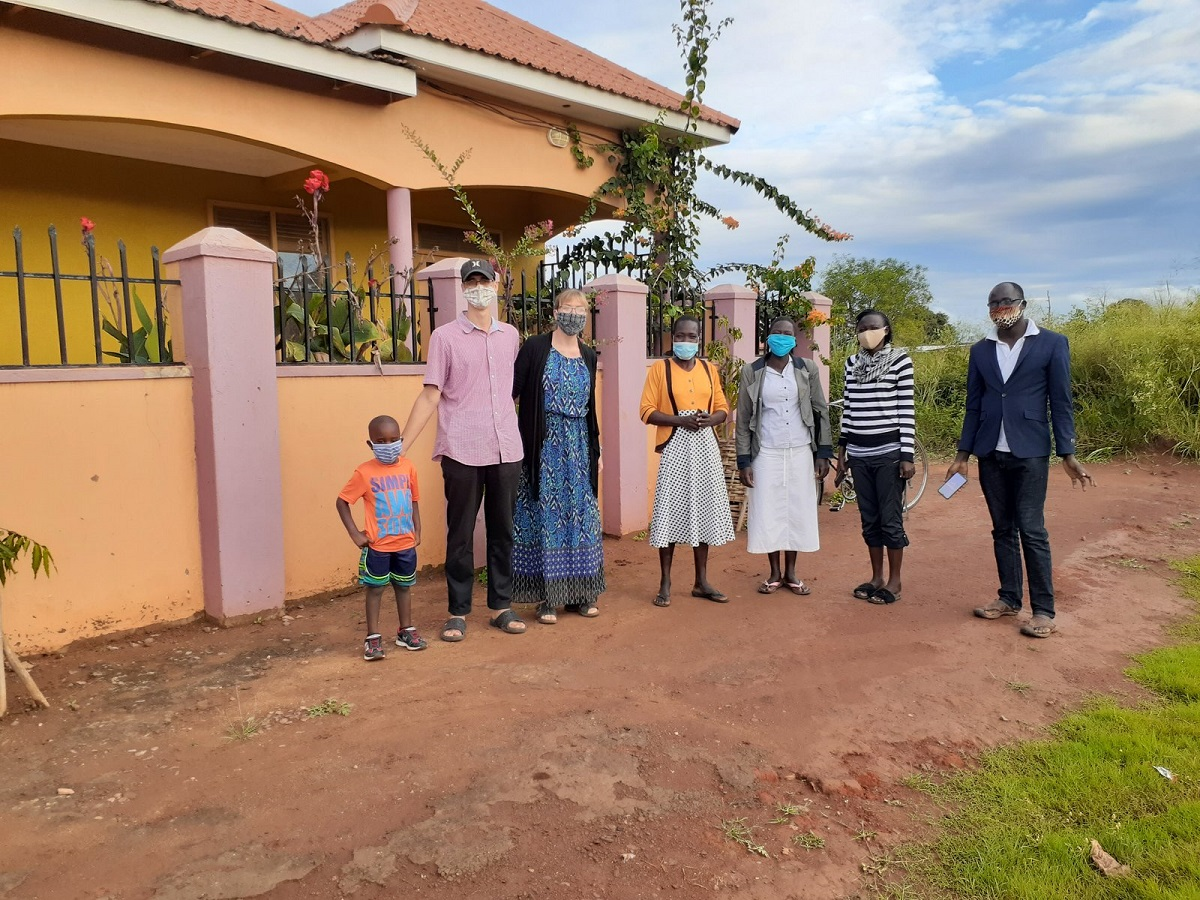 Mike and Marianne Botting's ministry in Uganda during COVID-19 (November 2020 Down to Earth)
