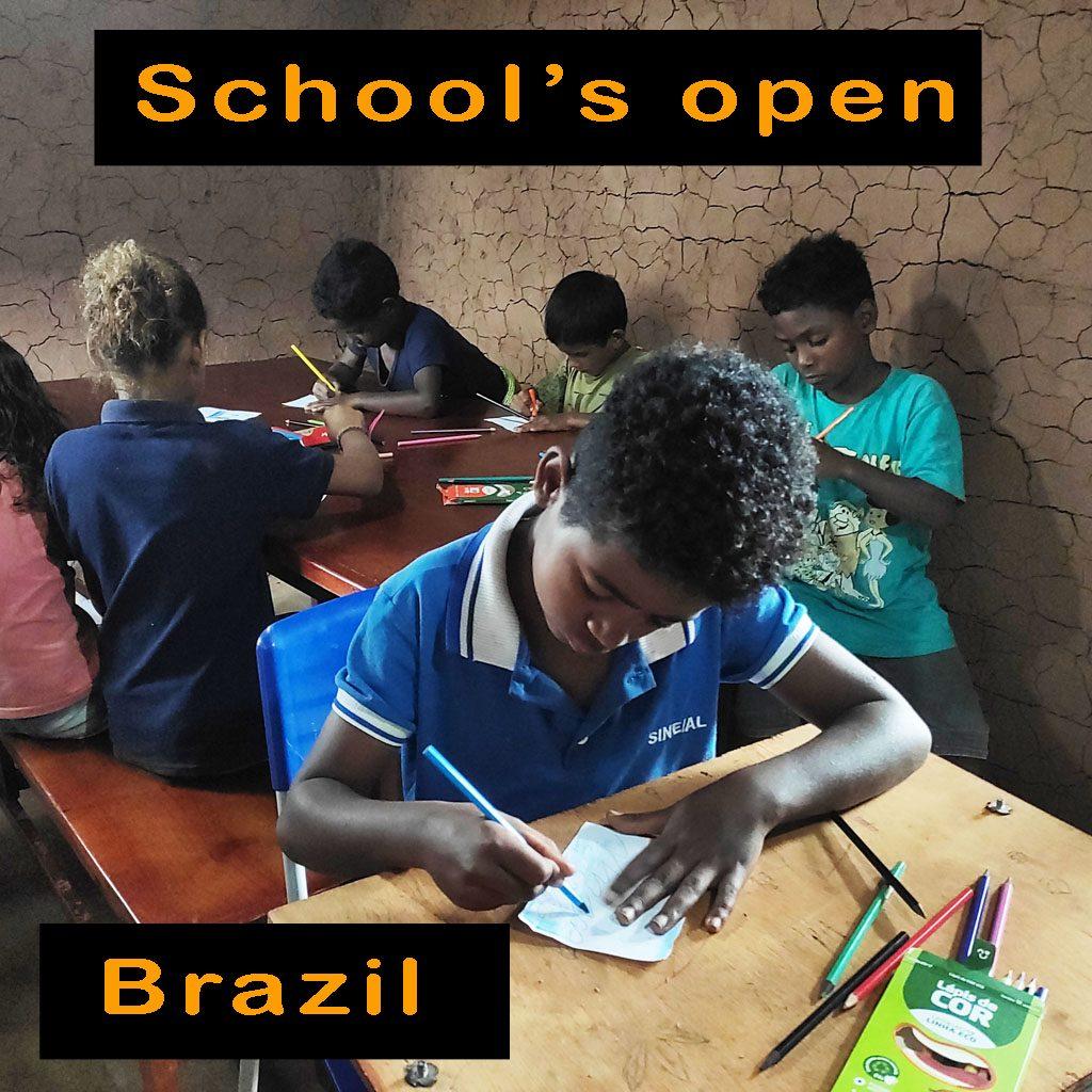 02 Schools open Brazil