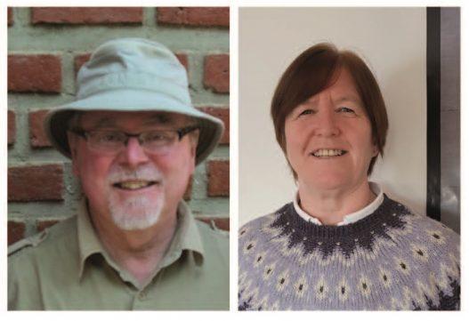 Brian Seim and Sue Fallon