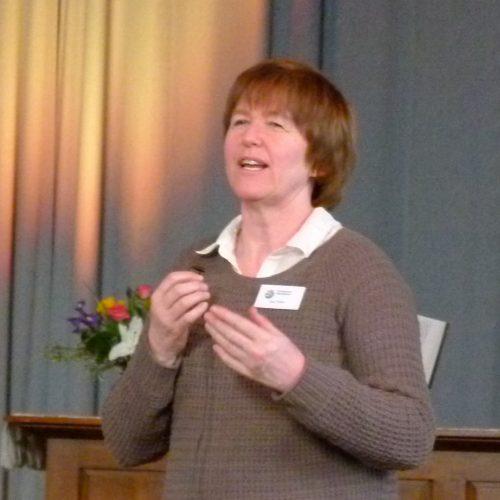 Sue speaking